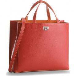 Torebka COCCINELLE - CC7 Tahlia Soft E1 CC7 18 01 01 Bourgogne/Argil 573. Czerwone torebki klasyczne damskie Coccinelle, ze skóry, duże. W wyprzedaży za 1049,00 zł.