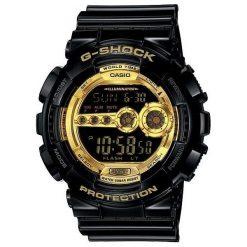 Zegarek Casio Męski GD-100GB-1ER G-Shock czarny. Czarne zegarki męskie CASIO. Za 510,99 zł.