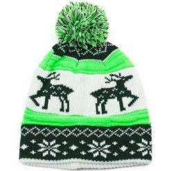 Czapka damska Skandynawska zielona. Zielone czapki zimowe damskie Art of Polo. Za 32,73 zł.