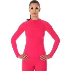 Bluzki sportowe damskie: Brubeck Koszulka damska z długim rękawem Thermo różowa r. XS (LS13100)
