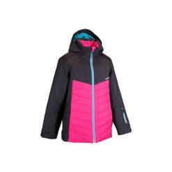 Kurtka narciarska dla dzieci SLIDE 100. Czarne kurtki dziewczęce przeciwdeszczowe marki bonprix. W wyprzedaży za 99,99 zł.