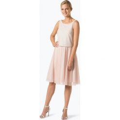 Marie Lund - Damska sukienka wieczorowa, beżowy. Niebieskie sukienki balowe marki Marie Lund, z szyfonu. Za 149,95 zł.