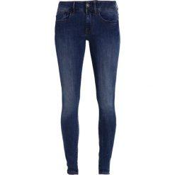 GStar LYNN MID SUPER SKINNY  Jeans Skinny Fit medium aged. Niebieskie rurki damskie G-Star, z bawełny. Za 469,00 zł.