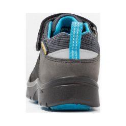 Keen HIKEPORT Obuwie hikingowe black/blue jewel. Czarne buty skate męskie Keen, z materiału. Za 299,00 zł.