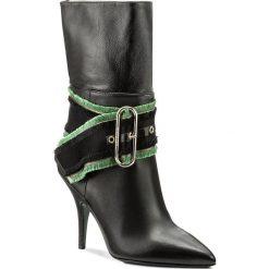 Botki PATRIZIA PEPE - 2V7725/A3CV-K103 Nero. Czarne buty zimowe damskie Patrizia Pepe, z materiału, na obcasie. W wyprzedaży za 1289,00 zł.