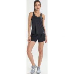 Nike Performance MILER TANK Koszulka sportowa black/heather. Czarne t-shirty damskie Nike Performance, xl, z elastanu. Za 129,00 zł.