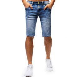 Spodenki i szorty męskie: Spodenki męskie jeansowe niebieskie (sx0679)
