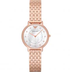 Zegarki damskie: Zegarek EMPORIO ARMANI – Dress AR11006  Rose Gold/Rose Gold