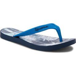 Japonki IPANEMA - Arpoador Temas II Ad 82300 Blue 20764. Niebieskie chodaki męskie Ipanema, z materiału. Za 69,99 zł.