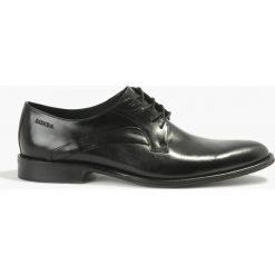 Półbuty wizytowe czarne Kier. Czarne buty wizytowe męskie Badura. Za 279,99 zł.