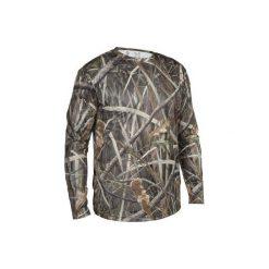 Koszulka myśliwska długi rękaw męska steppe 300 Kamo. Brązowe t-shirty męskie marki SOLOGNAC, m. W wyprzedaży za 39,99 zł.