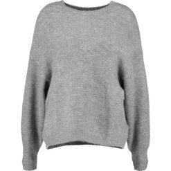 Swetry damskie: Vila VIDISA BATSLEEVE  Sweter medium grey melange