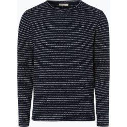 Swetry męskie: Selected – Sweter męski – Nalton, niebieski
