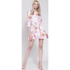Sukienki: Biała Sukienka The Flowers