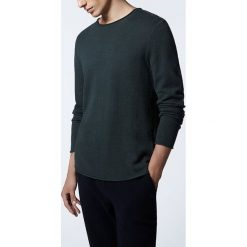 """Swetry klasyczne męskie: Sweter """"Svenland"""" w kolorze granatowym"""