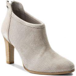 Botki LASOCKI - 1315-06 Szary. Czarne buty zimowe damskie marki Lasocki, ze skóry. Za 229,99 zł.