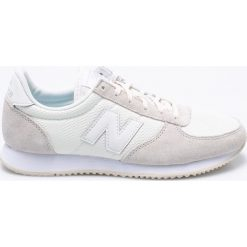 New Balance - Buty WL220TS. Szare buty sportowe damskie marki New Balance, z materiału. W wyprzedaży za 259,90 zł.