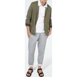"""Spodnie męskie: Spodnie dresowe """"Borasky"""" w kolorze szarym"""