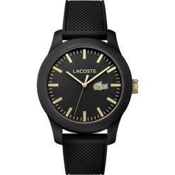 Lacoste - Zegarek 2010818. Czarne zegarki męskie Lacoste. W wyprzedaży za 479,90 zł.