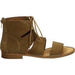 Sandały damskie: Sandały - A147 SER FLAN