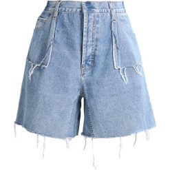 Szorty damskie: Ksenia Schnaider VINTAGE DENIM SHORTS Szorty jeansowe light blue