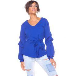 """T-shirty damskie: Koszulka """"Dana"""" w kolorze niebieskim"""