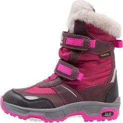 Jack Wolfskin SNOW FLAKE TEXAPORE Śniegowce mahogany. Czerwone buty zimowe damskie marki Jack Wolfskin, z materiału. W wyprzedaży za 239,85 zł.
