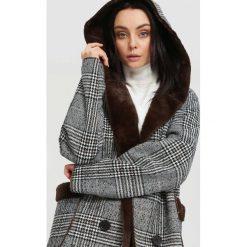 Odzież damska: Brązowy Płaszcz Reformed