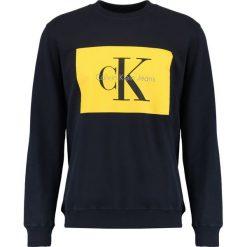 Calvin Klein Jeans HOTORO REGULAR FIT Bluza night sky. Niebieskie kardigany męskie marki Calvin Klein Jeans, m, z bawełny. W wyprzedaży za 359,20 zł.