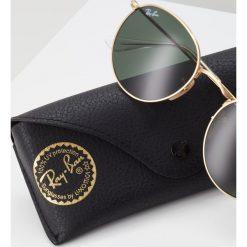 RayBan ROUND METAL Okulary przeciwsłoneczne grün. Żółte okulary przeciwsłoneczne damskie lenonki Ray-Ban. Za 579,00 zł.