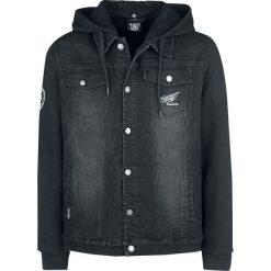 Gas Monkey Garage Monkey Kurtka jeansowa czarny. Niebieskie kurtki męskie jeansowe marki Reserved, l. Za 324,90 zł.
