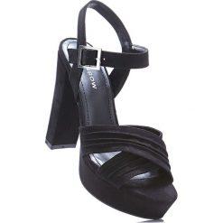 Rzymianki damskie: Sandały bonprix czarny