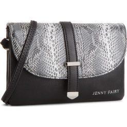 Torebka JENNY FAIRY - RS0130 Czarny. Czarne listonoszki damskie marki Jenny Fairy. Za 59,99 zł.