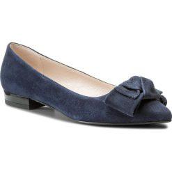 Baleriny EVA MINGE - Lebrija 3C 18GR1372411ES 807. Niebieskie baleriny damskie zamszowe marki Eva Minge, na płaskiej podeszwie. W wyprzedaży za 229,00 zł.