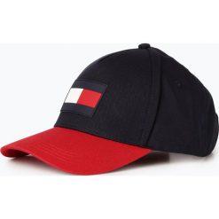 Tommy Hilfiger - Męska czapka z daszkiem, niebieski. Niebieskie czapki z daszkiem męskie TOMMY HILFIGER, sportowe. Za 179,95 zł.
