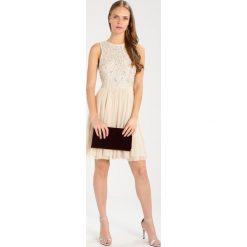 Sukienki hiszpanki: Lace & Beads PRINCESS SKATER Sukienka koktajlowa cream