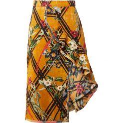 PatBo MOANA RUFFLE  Spódnica trapezowa sunflower. Żółte spódniczki trapezowe PatBo, z bawełny. W wyprzedaży za 1084,05 zł.