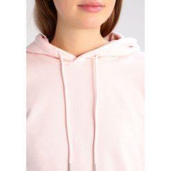 Bluzy rozpinane damskie: Urban Classics Bluza z kapturem pink