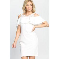 Sukienki: Biała Sukienka Every Night