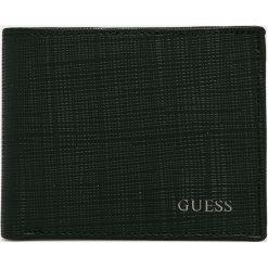 Guess Jeans - Portfel. Czarne portfele męskie Guess Jeans, z aplikacjami, z jeansu. Za 299,90 zł.