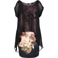 Sukienki hiszpanki: Live Unlimited London ROMANTIC FLORAL OVERLAY  Sukienka letnia black