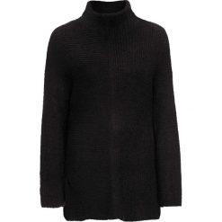 """Swetry oversize damskie: Sweter """"oversize"""" bonprix czarny"""