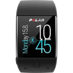 Zegarki męskie: Zegarek sportowy smartwatch (czarny) Polar M600