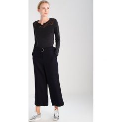 Bluzki asymetryczne: khujo VALMA Bluzka z długim rękawem washed black