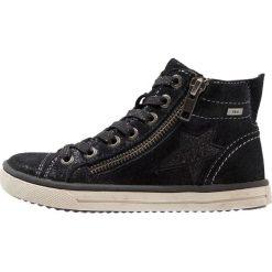 Lurchi SASSITEX Tenisówki i Trampki wysokie black. Czarne trampki chłopięce marki Lurchi, z materiału. W wyprzedaży za 255,20 zł.