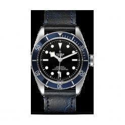 ZEGAREK TUDOR HERITAGE BLACK BAY 79230B STRAP BLACK INDEX W. Czarne zegarki męskie TUDOR, ze stali. Za 13890,00 zł.
