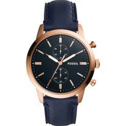 Fossil - Zegarek FS5436. Różowe zegarki męskie marki Fossil, szklane. Za 769,90 zł.