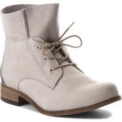Botki WOJAS - 8553-70 J. Popiel. Szare buty zimowe damskie Wojas, z nubiku. W wyprzedaży za 279,00 zł.