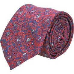Krawat platinum granatowy classic 268. Niebieskie krawaty męskie Recman. Za 49,00 zł.