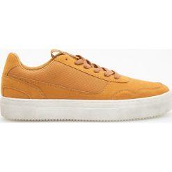 Buty sportowe męskie: Sportowe buty – Brązowy